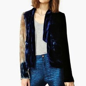 Chaser Velvet Moonlight Blazer Jacket